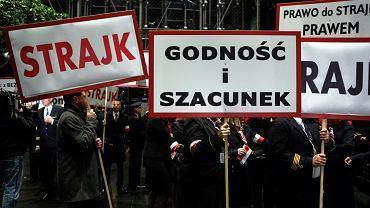 Strajk pracowników Polskich Linii Lotniczych Lot w Warszawie