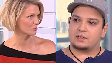 Magda Mołek i Robert Karwiński w 'DD TVN'