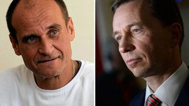 Paweł Kukiz, Bernd Lucke. Sukces Kukiza przypomina osiągnięcia niemieckiej Alternatywy dla Niemiec (AfD).