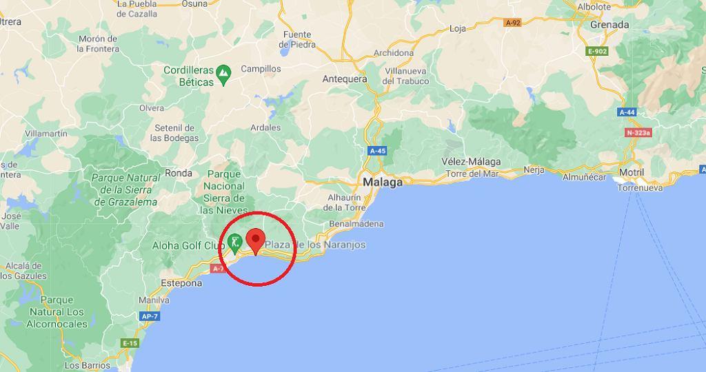 Miejsce zdarzenia - Marbella
