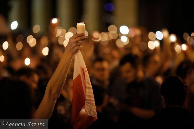 """Protesty w Łodzi. """"Jesteśmy siłą, którą widać!"""""""