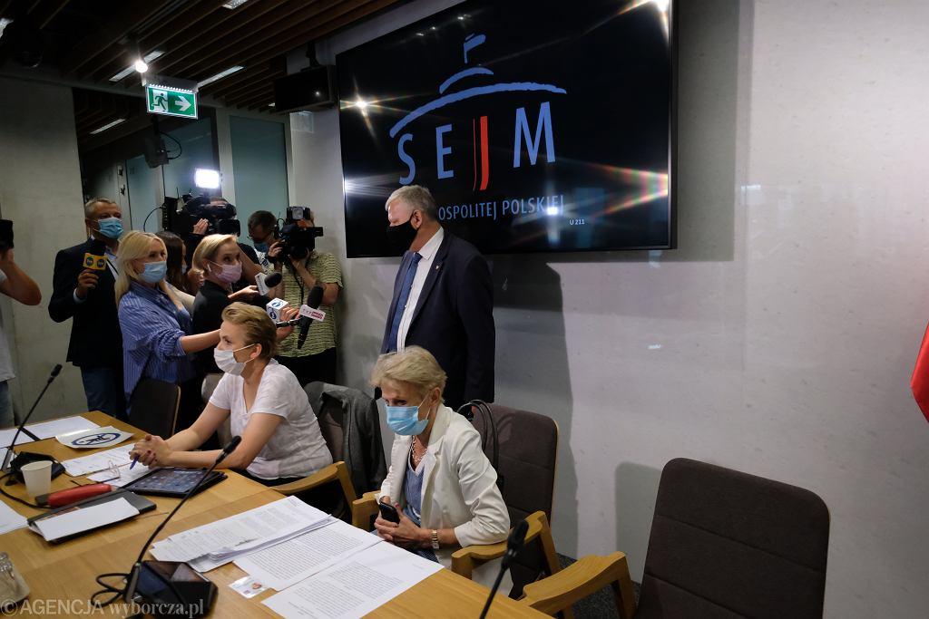 Posiedzenie Komisji Kultury i Środków Przekazu w sprawie 'Lex TVN'