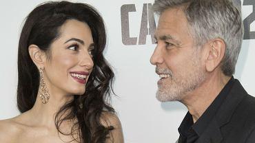 Amal Clooney w ciąży? Na zdjęciu widać mocno zaokrąglony brzuszek. Jeszcze przed porodem podjęła inną ważną decyzję