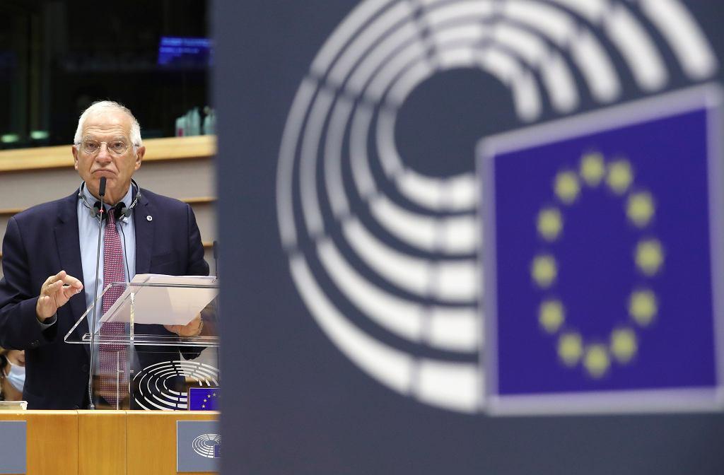 Wysoki przedstawiciel Unii do spraw zagranicznych i polityki bezpieczeństwa Josep Borell