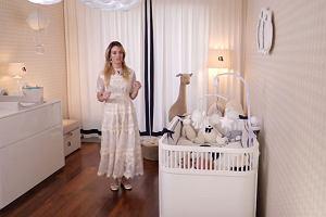 Izabela Janachowska pokazała, jak wygląda łóżeczko jej dziecka. Czy syn jest bezpieczny?