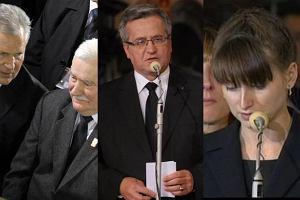 Lech Wałęsa, Aleksander Kwaśniewski, Bronisław Komorowski.