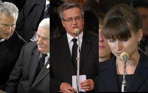 Lech Wałęsa, Aleksander Kwaśniewski, Bronisław Komorowski