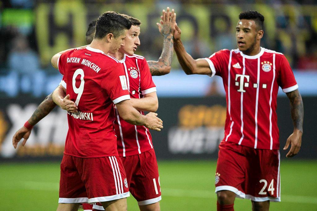 Robert Lewandowski i jego koledzy z Bayernu Monachium zdobyli Superpuchar Niemiec