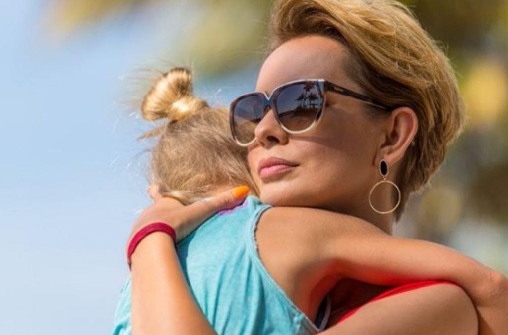 Dorota Gardias z córką