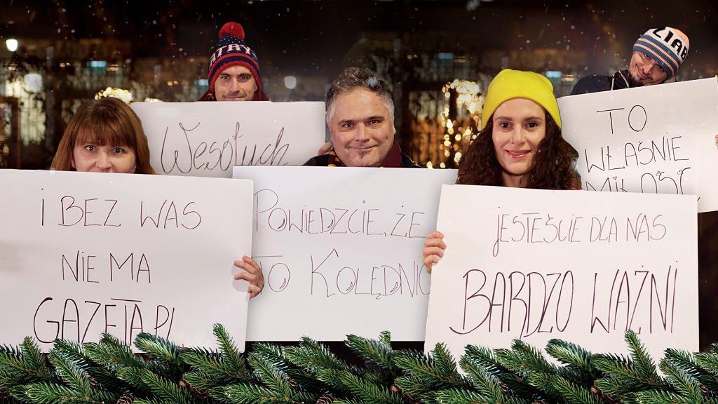 Świąteczne życzenia od Gazeta.pl
