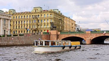 Petersburg Rosja - Most Aniczkowski