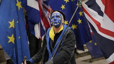 Demonstracja przeciwników brexitu, Londyn, 19 grudnia 2018 r.