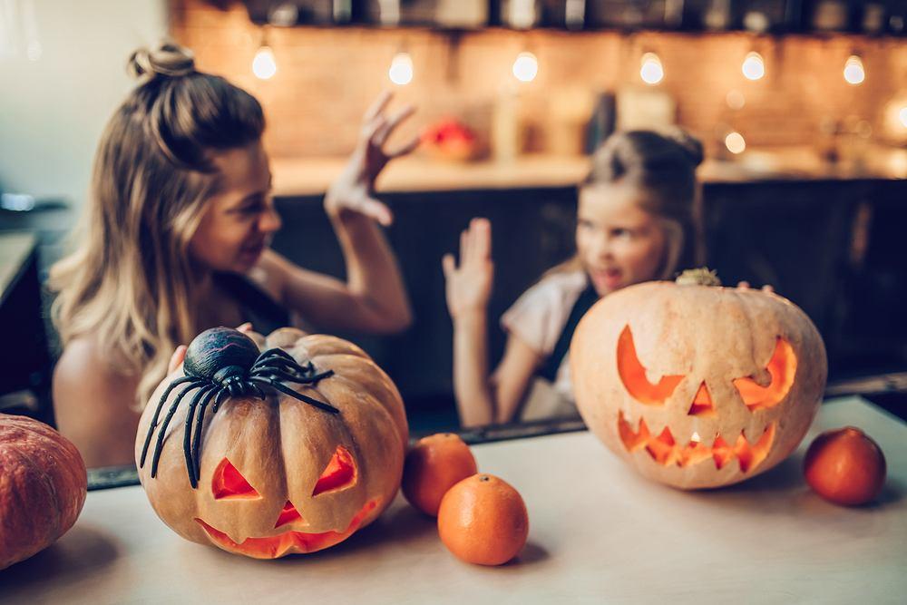 Zabawy na Halloween to niewątpliwie najbardziej wyczekiwany moment tego świątecznego dnia. Zdjęcie ilustracyjne
