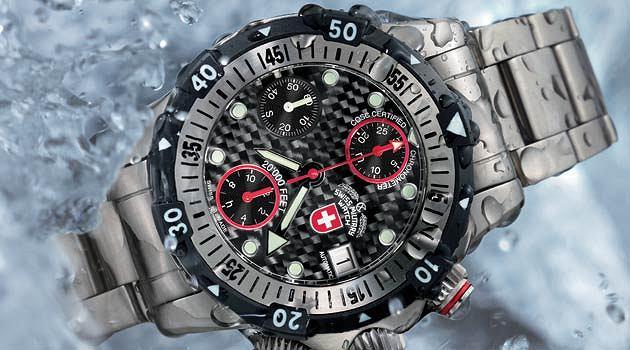 Model 20 000 Feet marki CX Swiss Military Watch.