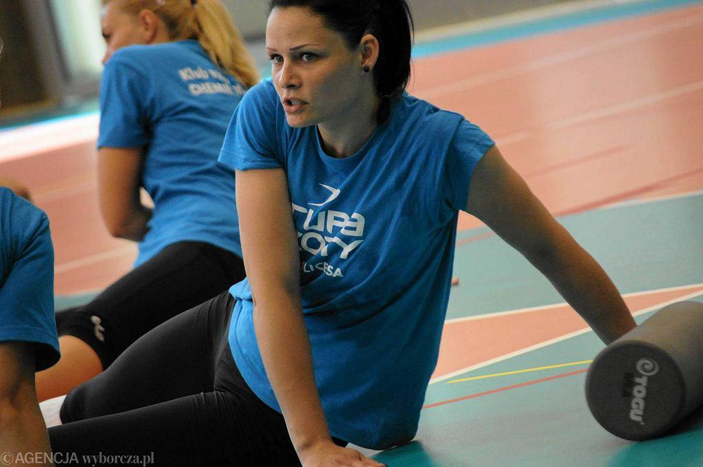 Justyna Raczyńska - przyjmująca Developresu SkyRes Rzeszów