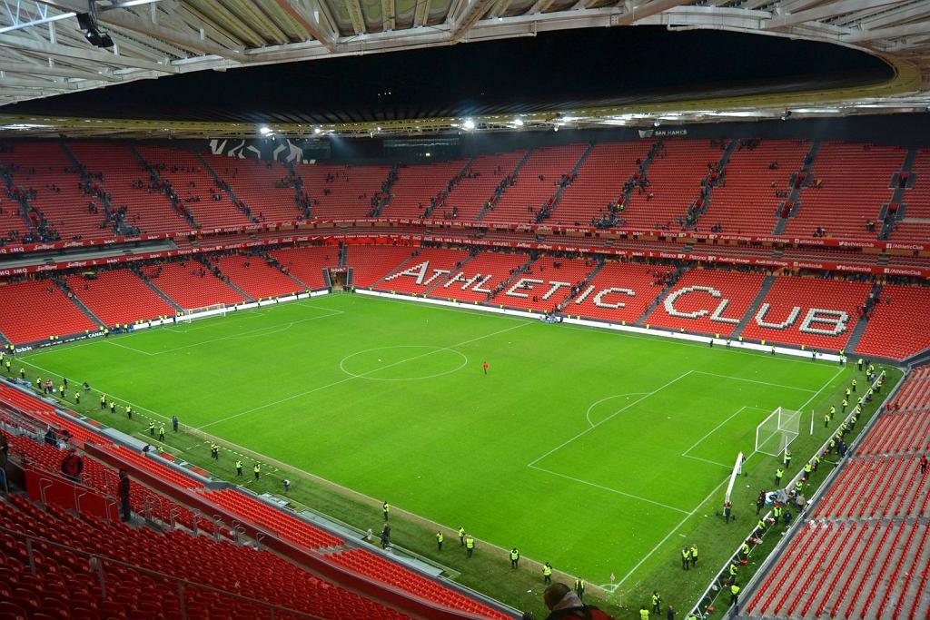 Stadion w Bilbao