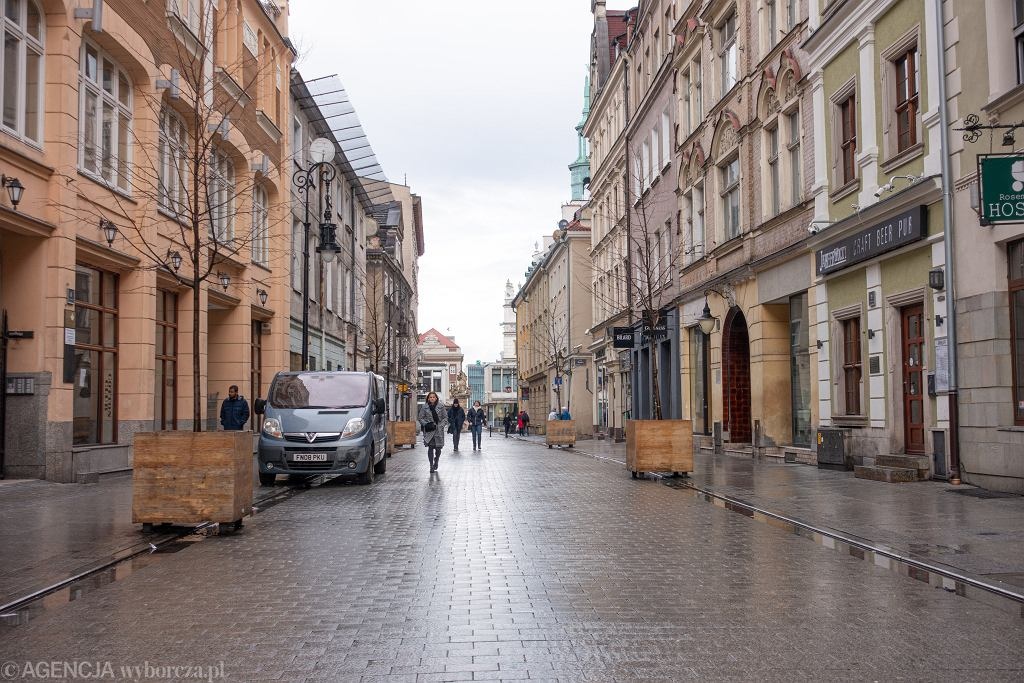 Poznań, ul. Wrocławska (zdjęcie ilustracyjne)