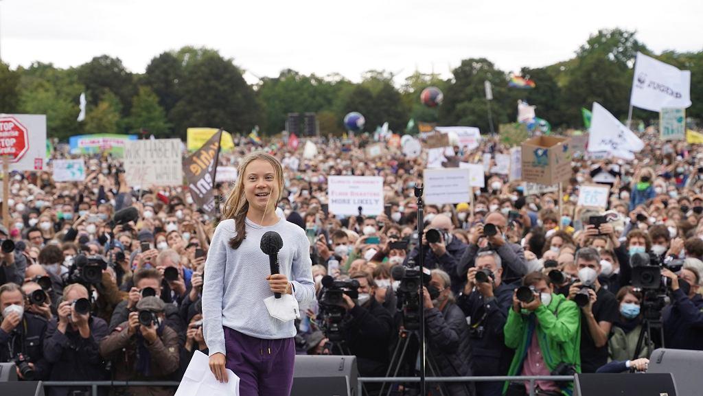 Berlin - protest klimatyczny