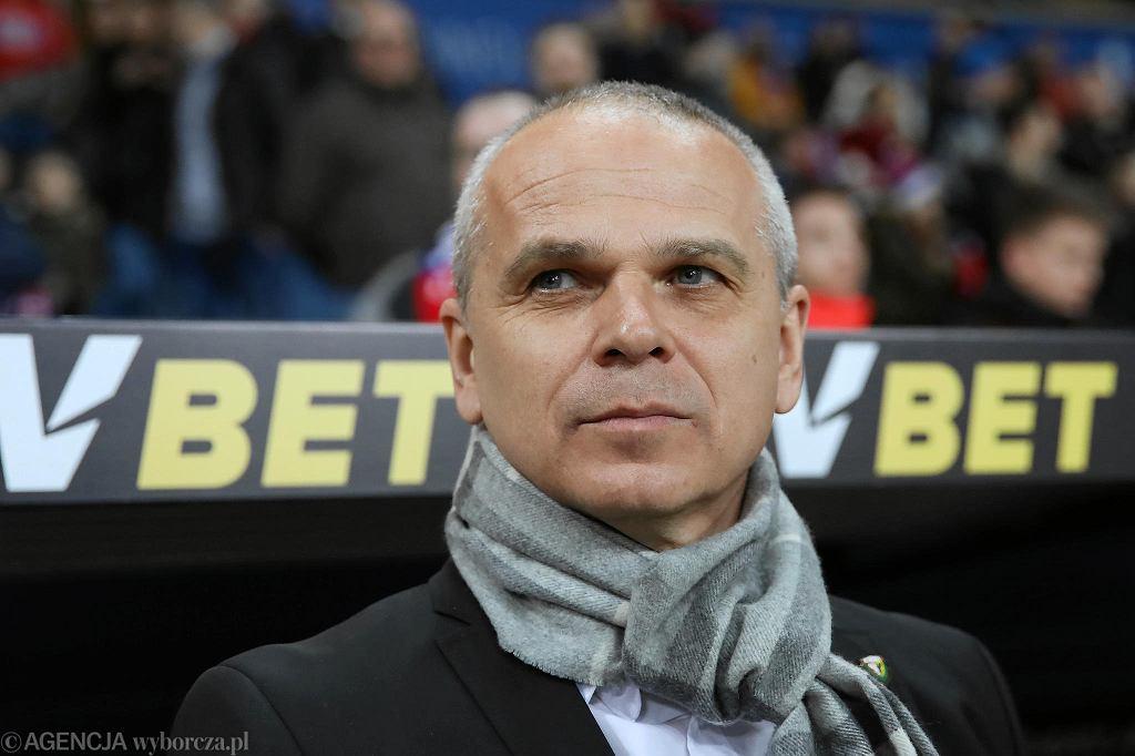 Trener Śląska Vitezslav Lavicka