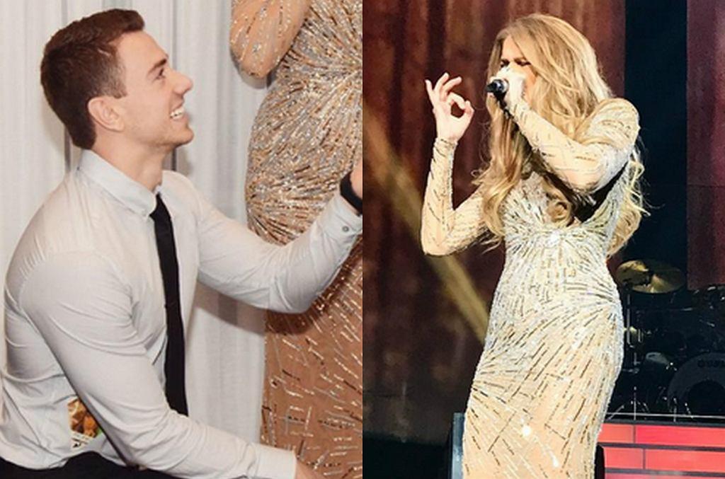 Celine Dion na zaręczynach