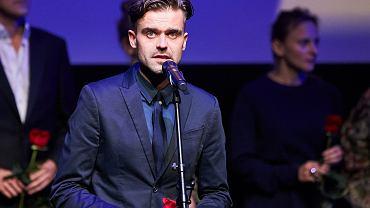 Gala otwarcia 41 . Festiwalu Filmowego. Kuba Czekaj , reżyser filmu  'Królewicz Olch'