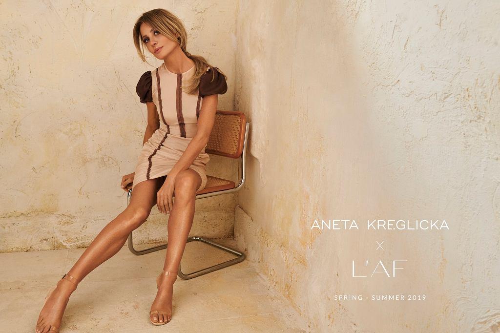 Aneta Kręglicka w nowej kampanii L'AF