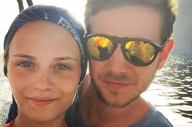 Katarzyna Sawczuk i Antoni Królikowski