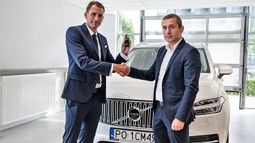 Łukasz Kubot odbiera Volvo XC90