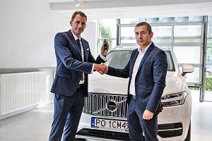 Polska gwiazda tenisa ambasadorem Volvo XC90
