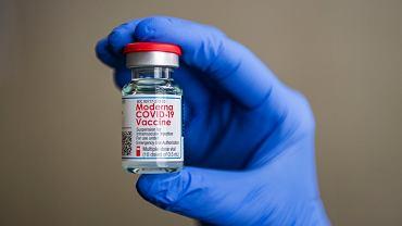Szczepionka firmy Moderna