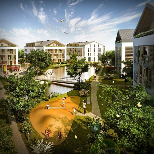 Miasteczko Zamienie: osiedle na 800 mieszkań na 18 ha