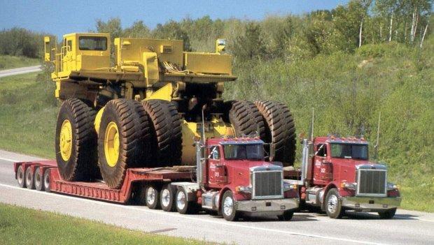 Transport ciężarówki