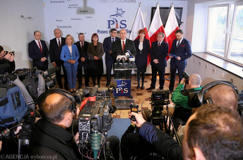 Eurowybory 2019. PiS prezentuje kandydatów do europarlamentu w okręgu zachodniopomorsko-lubuskim