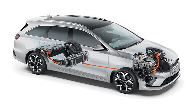 Kia Ceed SW PHEV 2020, hybryda plug-in