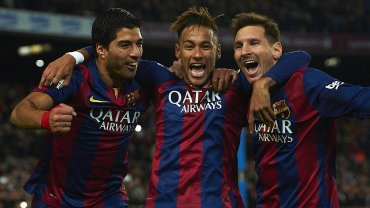 Luis Suarez, Neymar i Lionel Messi