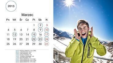 Kamil Stoch w wyjątkowym kalendarzu. Zdjęcia wykonała Ewa Bilan-Stoch, żona skoczka