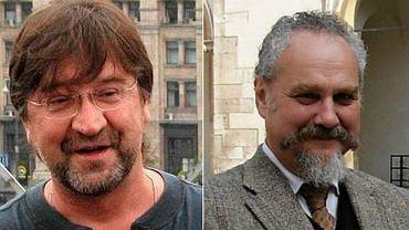Jurij Szewczuk, popularny rosyjski bard, oraz Andriej Zubow, historyk i publicysta