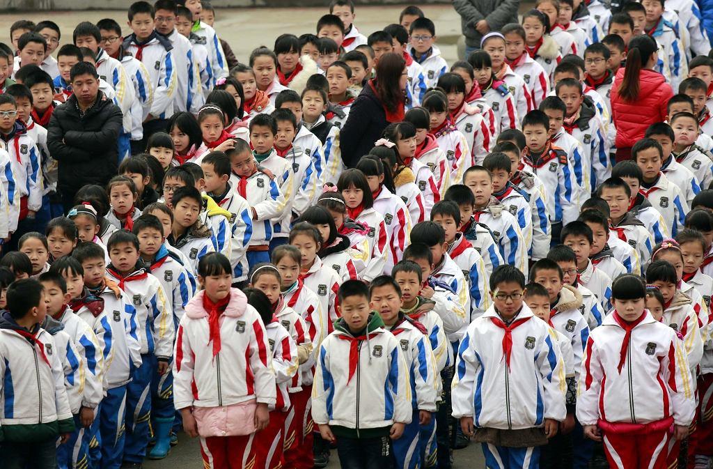 W Chinach w klasach jest średnio 70 uczniów