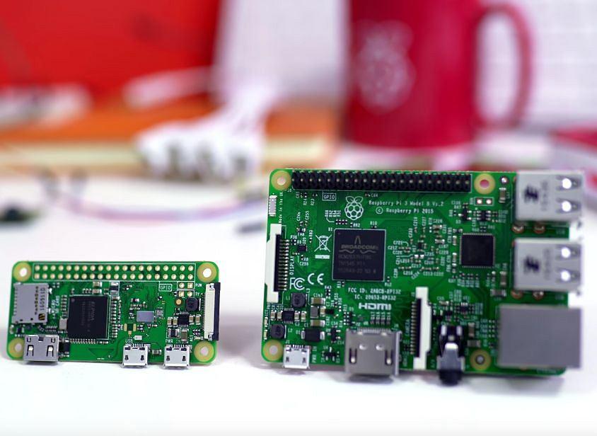 Raspberry Pi Zero W oraz Raspberry Pi 3
