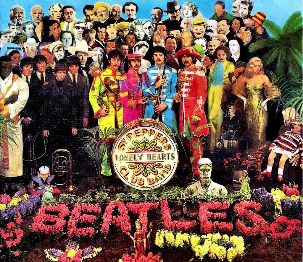 'Sgt. Pepper's Lonely Hearts Club Band' The Beatles.