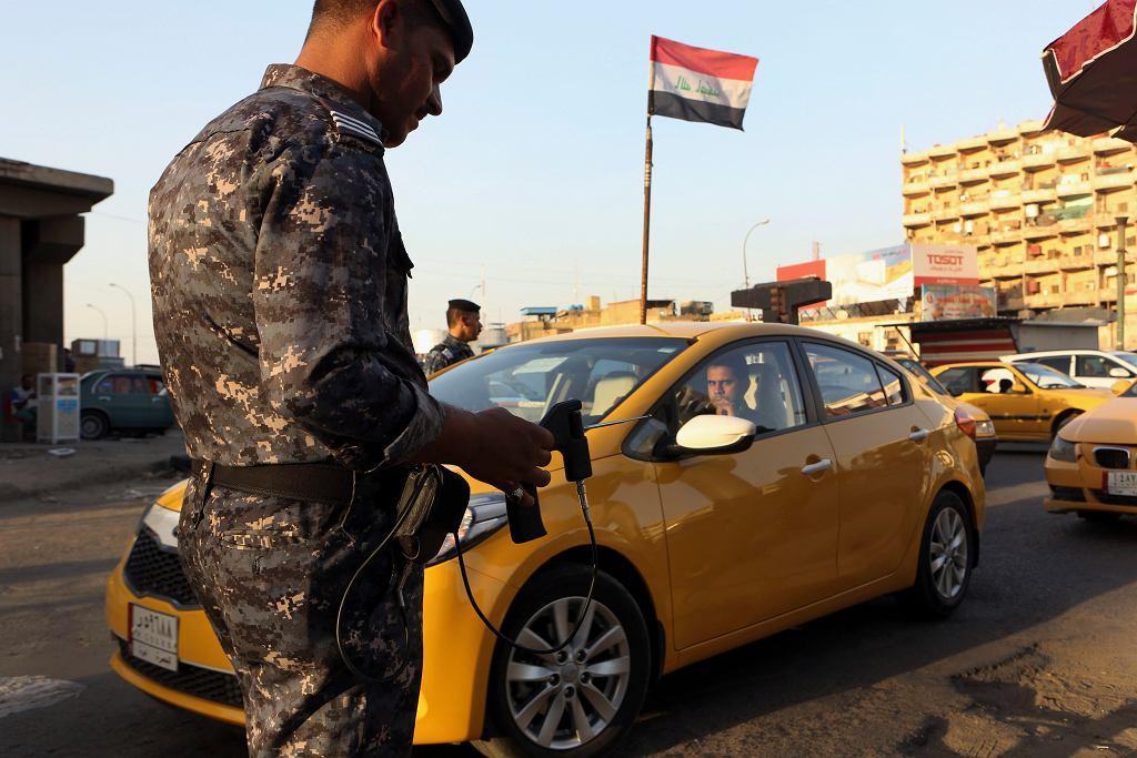 Punkt kontrolny w Iraku