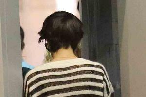 Katie Holmes w nowej fryzurze