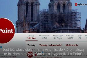 Milionerzy odbudują Notre Dame?