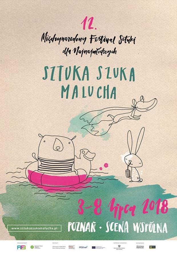 Sztuka Szuka Malucha, czyli festiwal teatralny dla niemowląt, małych dzieci i rodziców