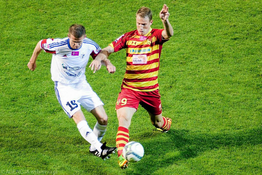 Jagiellonia Białystok - Górnik Zabrze 0:1. Bekim Balaj