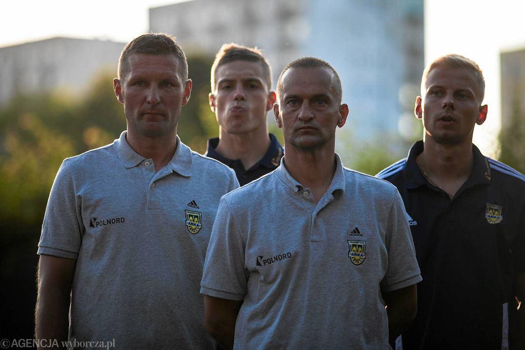 Grzegorz Niciński (z lewej) i Dariusz Dźwigała