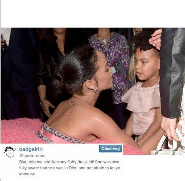 Rihanna i Blue Ivy