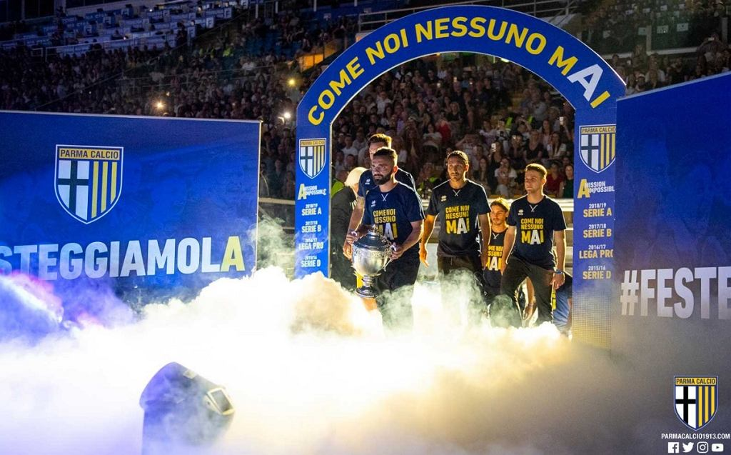 Parma awansowała do Serie A