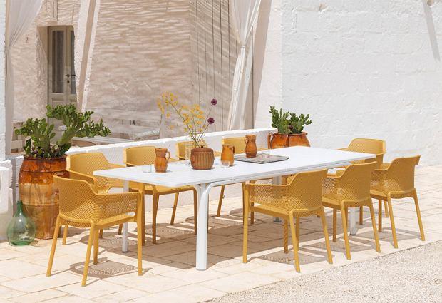 Meble ogrodowe włoskiej marki Nardi - śródziemnomorski styl w nowoczesnym wydaniu
