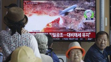 Południowo koreańskie media poinformowały o próbie rakietowej, jaką przeprowadziła komunistyczna Korea Północna